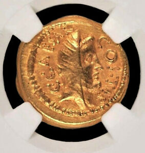 Click now to see the BUY IT NOW Price! ROMAN EMPIRE A LOVELY HIGH GRADE JULIUS CAESAR GOLD AUREUS 46 B.C. NGC  AU