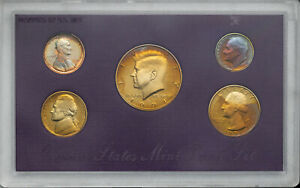 Click now to see the BUY IT NOW Price! 1991 S UNITED STATES MINT PROOF SET BU UNC FLASHING COLOR TONED