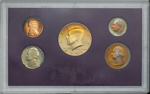 Click now to see the BUY IT NOW Price! 1991 S UNITED STATES MINT PROOF SET BU UNC GLISTENING COLOR TONED