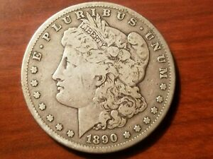 Click now to see the BUY IT NOW Price! 1890 S MORGAN SILVER DOLLAR LIBERTY HEAD $1 AMERICAN EAGLE NICE COIN