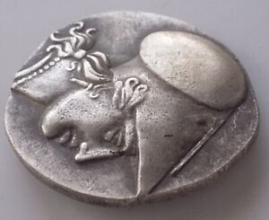 ANCIENT GREECE ATHENS HORSE SILVER PLATED COIN THE GREAT GREEK  COIN  6