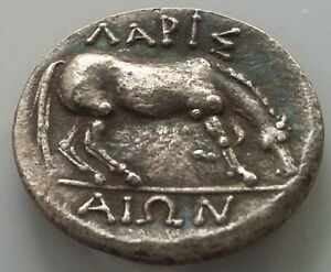SILVER PLATED ANCIENT GREECE ATHENS DRINKING HORSE  GREEK ANIMAL COIN  16