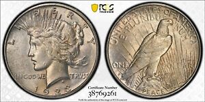 1923 S PEACE DOLLAR VAM 1I RETAINED CUD REVERSE ELITE 30 ANACS VF20 DETAILS