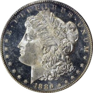 Click now to see the BUY IT NOW Price! 1886 S $1 MORGAN DOLLAR PCGS MS64DMPL CAC