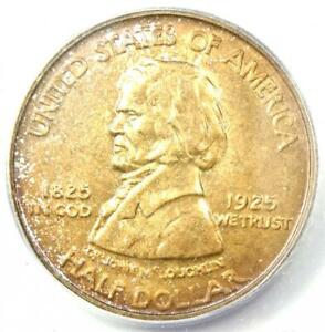 1925 VANCOUVER HALF DOLLAR 50C   CERTIFIED ICG MS65    IN MS65   $682 VALUE