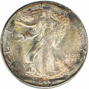 Click now to see the BUY IT NOW Price! 1937 D 50C WALKING LIBERTY HALF DOLLAR PCGS MS67  CAC
