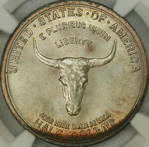 Click now to see the BUY IT NOW Price! 1935 SPANISH TRAIL COMMEM NGC MS68