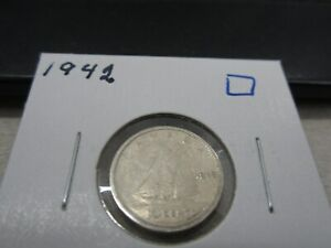 1942   CANADA SILVER 10 CENT   CANADIAN DIME