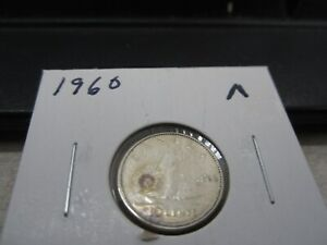 1960   CANADA SILVER 10 CENT   CANADIAN DIME