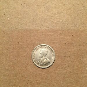CANADA  5 CENTS 1920  KM22A  VF.