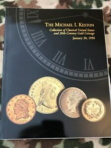 MICHAEL KESTON COLLECTION COIN CATALOG SUPERIOR JAN 1996 AWESOME EARLY GOLD