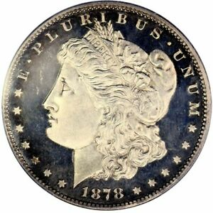 Click now to see the BUY IT NOW Price! 1878 7TF $1 MORGAN DOLLAR PCGS PR65CAM CAC REVERSE OF 1878