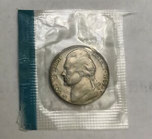 1969 S JEFFERSON NICKEL IN MINT CELLO
