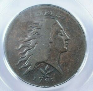Click now to see the BUY IT NOW Price! 1793 1C WREATH VINE AND BARS PCGS F15
