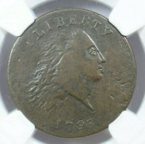 1793 1C CHAIN CENT NGC VF20