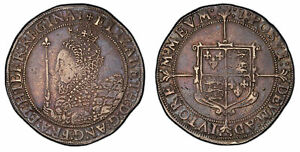 Click now to see the BUY IT NOW Price! ENGLAND. ELIZABETH I  1601 02   1  AR CROWN. PCGS VF30. SCBC 2582; NORTH 2012.