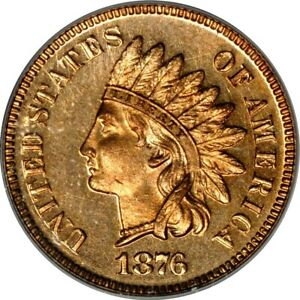 Click now to see the BUY IT NOW Price! 1876 1C INDIAN CENT PCGS PR66RD  PHOTO SEAL