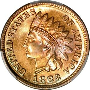 Click now to see the BUY IT NOW Price! 1883 1C INDIAN CENT PCGS MS66RD