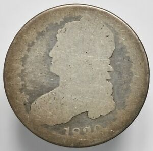 1830 P CAPPED BUST SILVER HALF DOLLAR