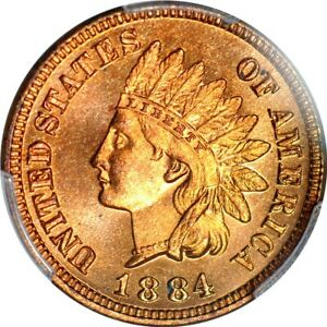 Click now to see the BUY IT NOW Price! 1884 1C INDIAN CENT PCGS PR66RD  PHOTO SEAL