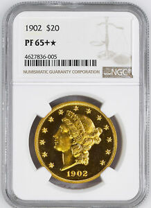 Click now to see the BUY IT NOW Price! 1902 LIBERTY HEAD $20 NGC PR 65
