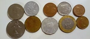 WORLD 10 DIFFERENT COINS LOT 5