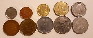 WORLD 10 DIFFERENT COINS LOT 3