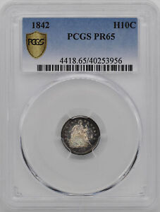 Click now to see the BUY IT NOW Price! 1842 LIBERTY SEATED H10C PCGS PR 65