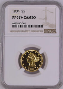 Click now to see the BUY IT NOW Price! 1904 LIBERTY $5 NGC PR 67  CAM