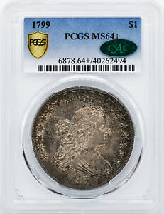 Click now to see the BUY IT NOW Price! 1799 DRAPED BUST $1 PCGS MS 64