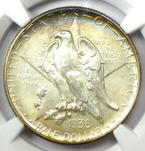 Click now to see the BUY IT NOW Price! 1938 S TEXAS HALF DOLLAR 50C   NGC MS68    IN MS68   $12 100 VALUE
