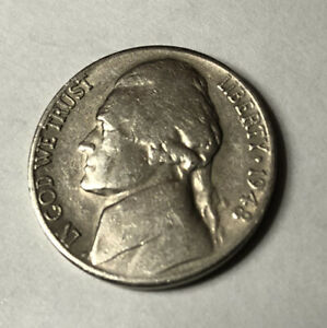 1948S JEFFERSON NICKEL CIRCULATED
