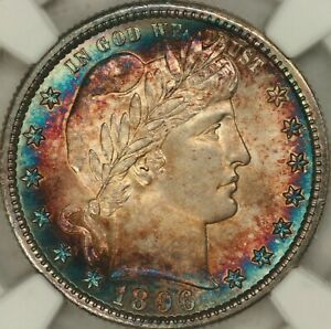 Click now to see the BUY IT NOW Price! 1896 S BARBER QUARTER NGC MS65  STAR