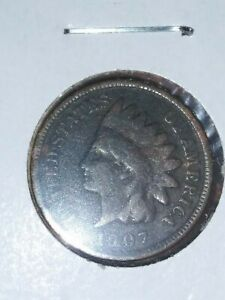 1907 INDIAN HEAD PENNY GOOD/FINE DETAILS NICE FILLER DATE 113 YEARS OLD