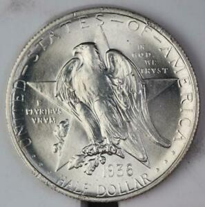1936 TEXAS SILVER COMMEMORATIVE HALF DOLLAR UNCIRCULATED 110842