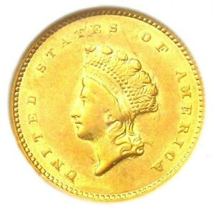 1855 TYPE 2 INDIAN GOLD DOLLAR  G$1 COIN    CERTIFIED NGC AU58   $800 VALUE