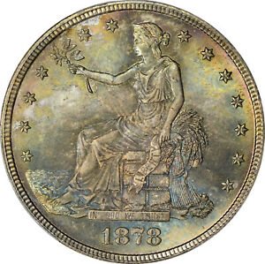 Click now to see the BUY IT NOW Price! 1878 S T$1 TRADE DOLLAR PCGS MS66  CAC