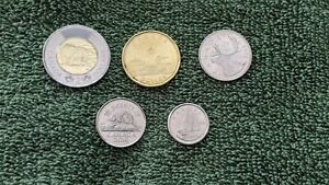 2019 CANADIAN COINS 5 10 25 1 2 COINS