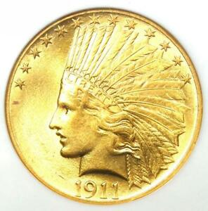 1911 INDIAN GOLD EAGLE $10 COIN   CERTIFIED NGC AU58    GOLD COIN