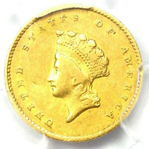 1855 O TYPE 2 INDIAN GOLD DOLLAR  G$1 COIN    PCGS XF40  EF40    $1 350 VALUE