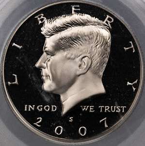 Click now to see the BUY IT NOW Price! 2007 S KENNEDY HALF DOLLAR PCGS PR69 DCAM HIGH GRADE PROOF STUNNING  MR