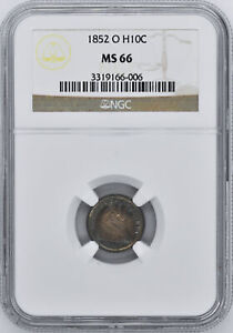 Click now to see the BUY IT NOW Price! 1852 O LIBERTY SEATED H10C NGC MS 66