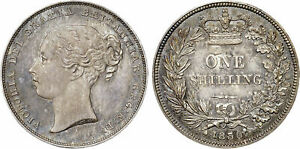Click now to see the BUY IT NOW Price! GREAT BRITAIN. VICTORIA 1839 WW AR SHILLING. NGC PR65. SCBC 3904; ESC 1282