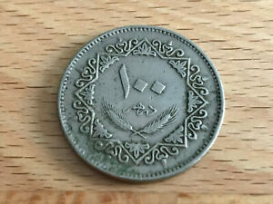 LIBYEN / 100 DIRHAMS / 1975  AH 1395  / ARABIAN REPUBLIC OF LIBYA  2