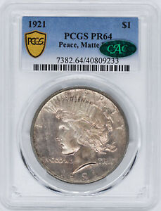 Click now to see the BUY IT NOW Price! 1921 PEACE $1 PCGS PR 64
