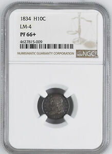Click now to see the BUY IT NOW Price! 1834 CAPPED BUST H10C NGC PR 66