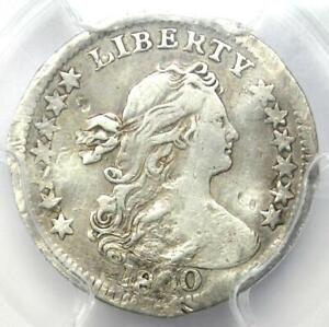 1800 DRAPED BUST HALF DIME H10C LIBEKTY VARIETY COIN   CERTIFIED PCGS VF DETAILS
