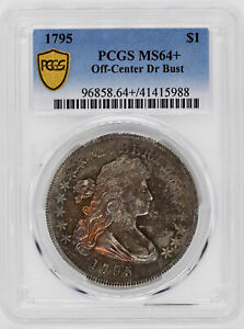 Click now to see the BUY IT NOW Price! 1795 DRAPED BUST $1 PCGS MS 64