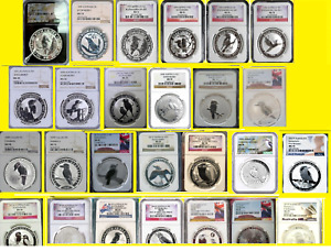 Click now to see the BUY IT NOW Price! 1991 2021 AUSTRALIA KOOKABURRA 26 SILVER COINS SET ALL PERFECT NGC MS 70  1