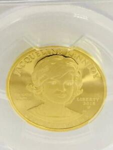 Click now to see the BUY IT NOW Price! JACQUELINE KENNEDY $10 GOLD COIN FIRST STRIKE 15.55G 2015 PCGS PR 70 DCAM 9623N